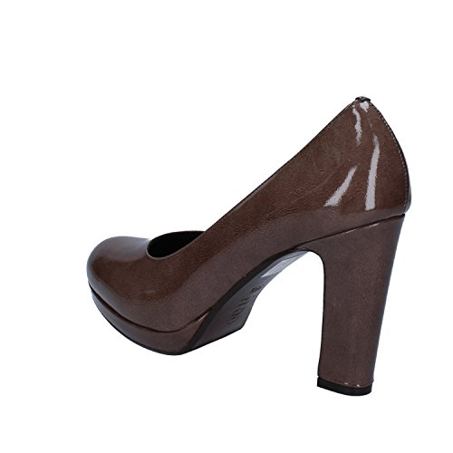 CALPIERRE Zapatos de Salón Mujer 39,5 EU Marrón Charol D582