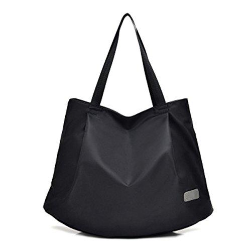 MYLL Trendy Frauen Leder Tasche Taschen Große Kapelle Schultertaschen,DarkBlue Black