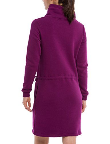 Femme Funnel Plum Pu11461 Robe Sweat Vxr1sq Bench Caspia Violet Dress 8nvmwON0