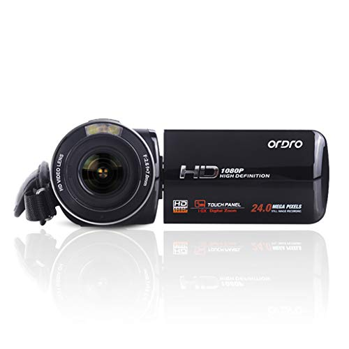 3.0 Tft Touch Screen - HD Digital Video Camcorder - 3.0