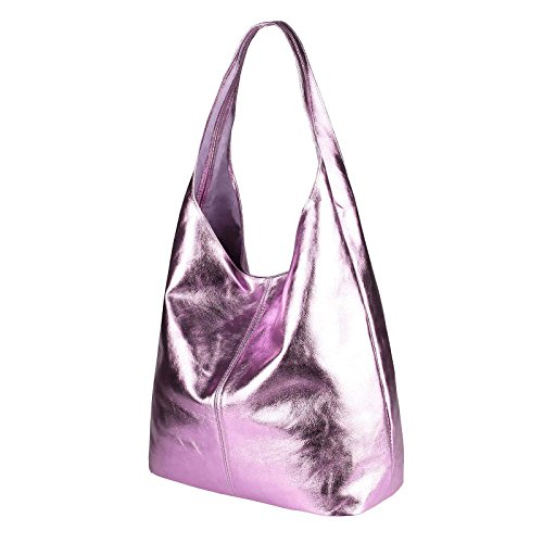OBC Only-Beautiful-Couture, Borsa a mano donna Rosa Rosa (Metallic) ca.: 43x32x17 cm (BxHxT) Rosa (Metallic)