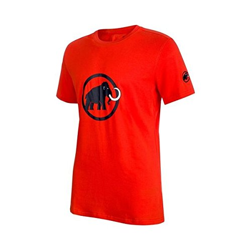 Mammut Men's Logo T-Shirt, Dark Orange-Marine, S, 1041-07291-2164-113 from Mammut