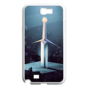 Samsung Galaxy N2 7100 Cell Phone Case Covers White Sword in the Stone MUS9213461