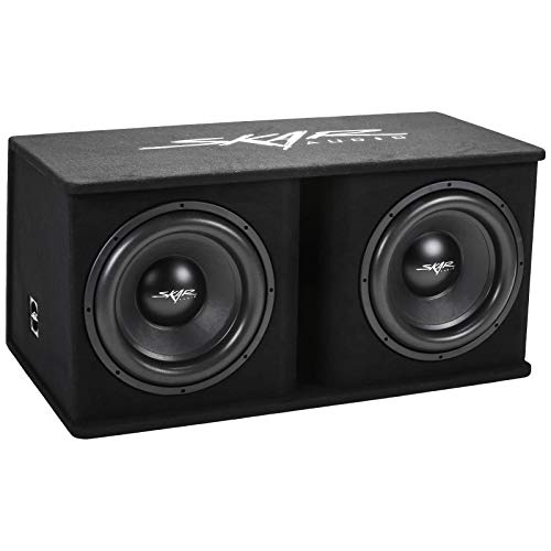 "Skar Audio Dual 15"" 2400W Loaded SDR Series Vented Subwoofer Enclosure | SDR-2X15D4"