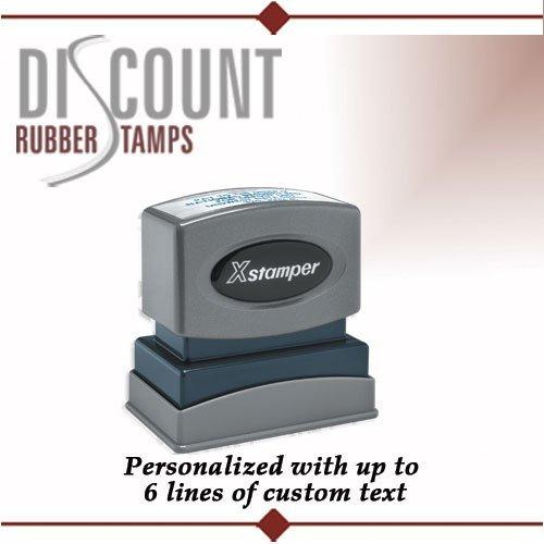 Xstamper N12 Custom Rubber Stamp