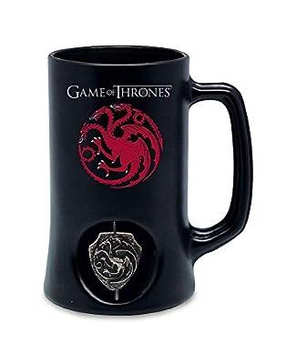 Jarra Negra Targaryen Logo Emblema Giratorio 3d Game Of Thrones