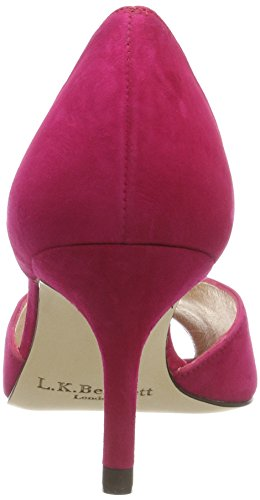 LK BENNETT Power Pink Frauen Pink Zehe Heels 135 Offene Tatiana TCqwfCv