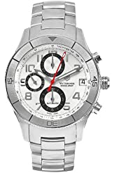 Victorinox Swiss Army Mens 241191 SSC Stainless Steel Automatic Chronograph Watch