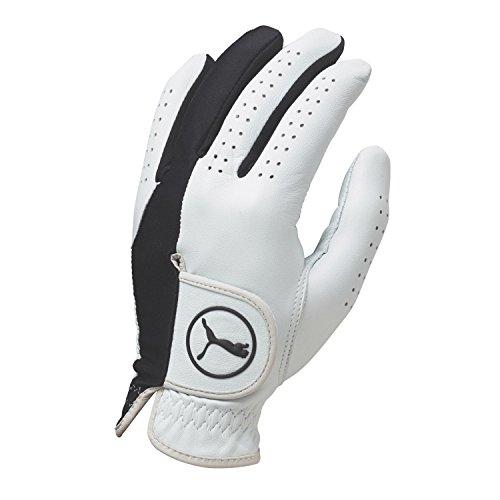 Puma Golf Men's Pro Formation Hybrid Glove, White/Black, X-Large, Left Hand