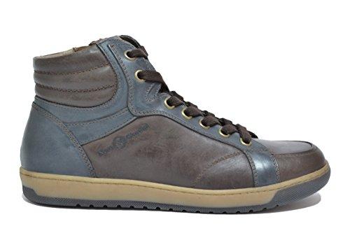 Nero Giardini Sneakers scarpe uomo caffè 4371 A604371U CAFFE'