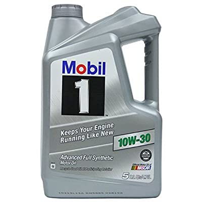 Mobil 1 120762 Synthetic Motor Oil 10W-30, 5 Quart