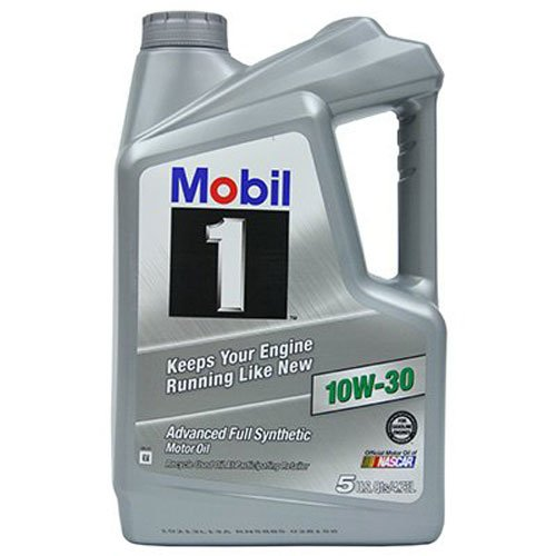 Mobil 1 (112796) 10W-30 Synthetic Motor Oil - 5 Quart