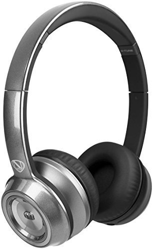 Monster NTune On-Ear Headphones - Pearl Silver