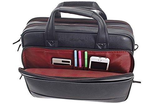 Aktentasche Arbeitstasche Schultasche Messenger Bag Herren Tasche Umhängetasche Damen Messenger Bag Schultertasche