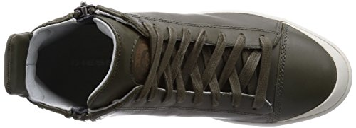 Diesel Heren S-nentish Fashion Sneaker Olijfgroen