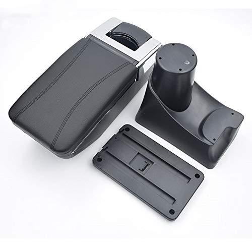 8X-SPEED for Nissan Kicks 2017-2018 Car Armrest Accessories Centre Console Storage Box Arm Rest Black