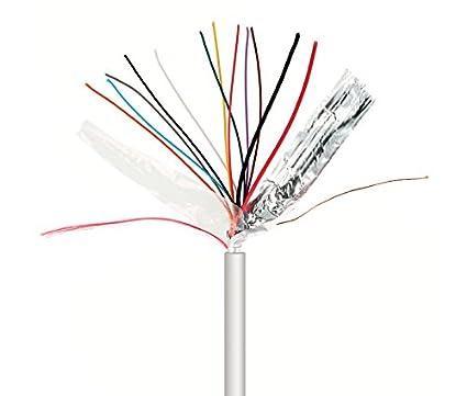 NIMO Rollo de Cable para Alarma y Portero 10+2 Cables ...