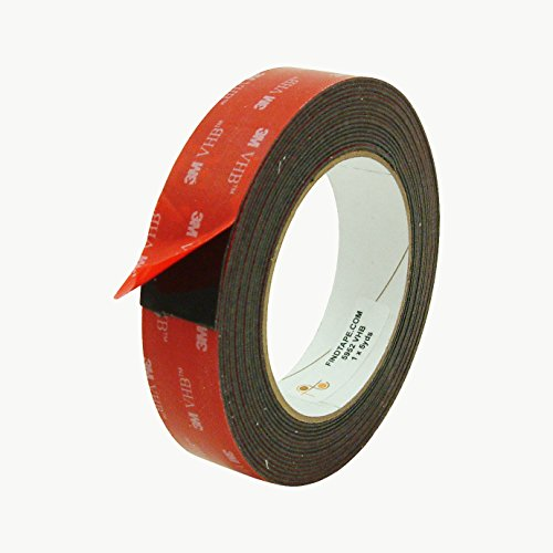 3M Scotch 5952 VHB Tape: 1 in. x 15 ft. (Black) ()