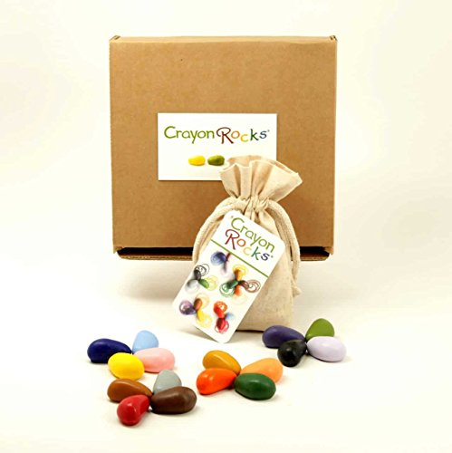 Crayon Rocks 16 Colors in a Muslin Bag