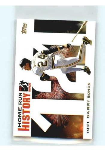 2005 Topps Barry Bonds Home Run History #121 Barry Bonds HR121 NM-MT 2005 Topps Barry Bonds