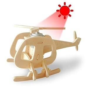 Juguete de madera accionado solar Robotime P240 DIY 3D