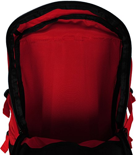Mountain-Equipment-30L-Travel-Hiking-Waterproof-Red-Frame-Backpack