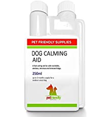 Premium Calming Aid for Dogs Liquid Product, Best Pet Calmer Supplement for Reducing Stress, Aggression, Calm Tension and Separation Anxiety in Dogs, 250 millimeter
