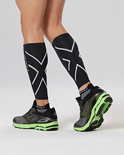 black Negro Polainas Calf Guard 2xu A7qIvpYnx
