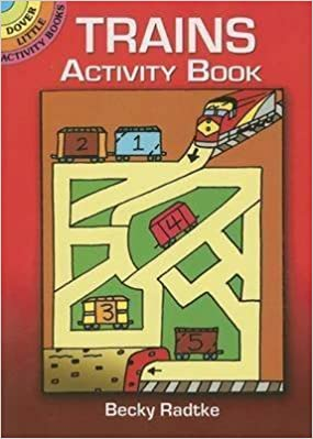 Book [Trains Activity Book] (By: Becky J. Radtke) [published: February, 2008]