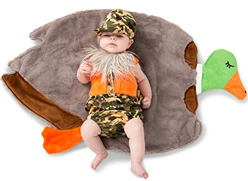Princess Paradise Swaddle Wings Duck Hunter Baby Costume,