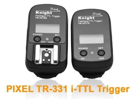 ピクセルtr331 i-ttlワイヤレスフラッシュトリガーサポート同期速度1 / 8000s Nikon d3  d700  d2シリーズ d300s d300 d200 d90 d80 d70 d70sシリーズ d5000 d3000 d60  d50  d40  d40 Xの商品画像