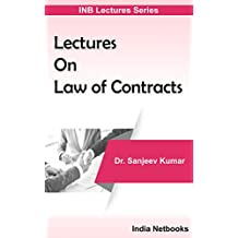 Lectures On Law of Contracts (INB Lectures Series)
