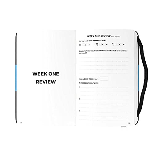 The Daily Domination Journal Ultimate Productivity Planner And - Productivity planner review