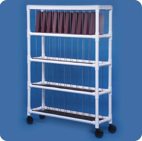 Notebook Chart Rack - Holds 30 Ring Binders