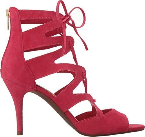 Jessica Simpson Womens Mitta Sandalo Tacco Tramonto Rosa