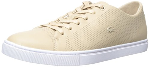Lacoste Lace Sneakers (Lacoste Women's Showcourt LACE 116 1 Fashion Sneaker, Natural, 5 M US)