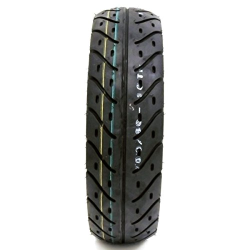 Tire 100/80-10 Tubeless Front/Rear Motorcycle Scooter Moped