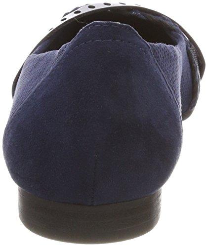 Marco Tozzi 22100, Bailarinas Para Mujer Azul (Navy Comb)