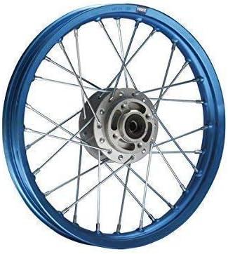 Hmparts Pit Bike Dirt Bike Cross Alu Felge Eloxiert 14 Vorne Blau Auto