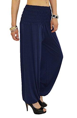 de Pantalon Femme Bleu pour Femme pour Sarouel Harem Yoga Pantalon Pantalons Dames tex Pump by S01 Pantalon Marine qw1xFaOnX