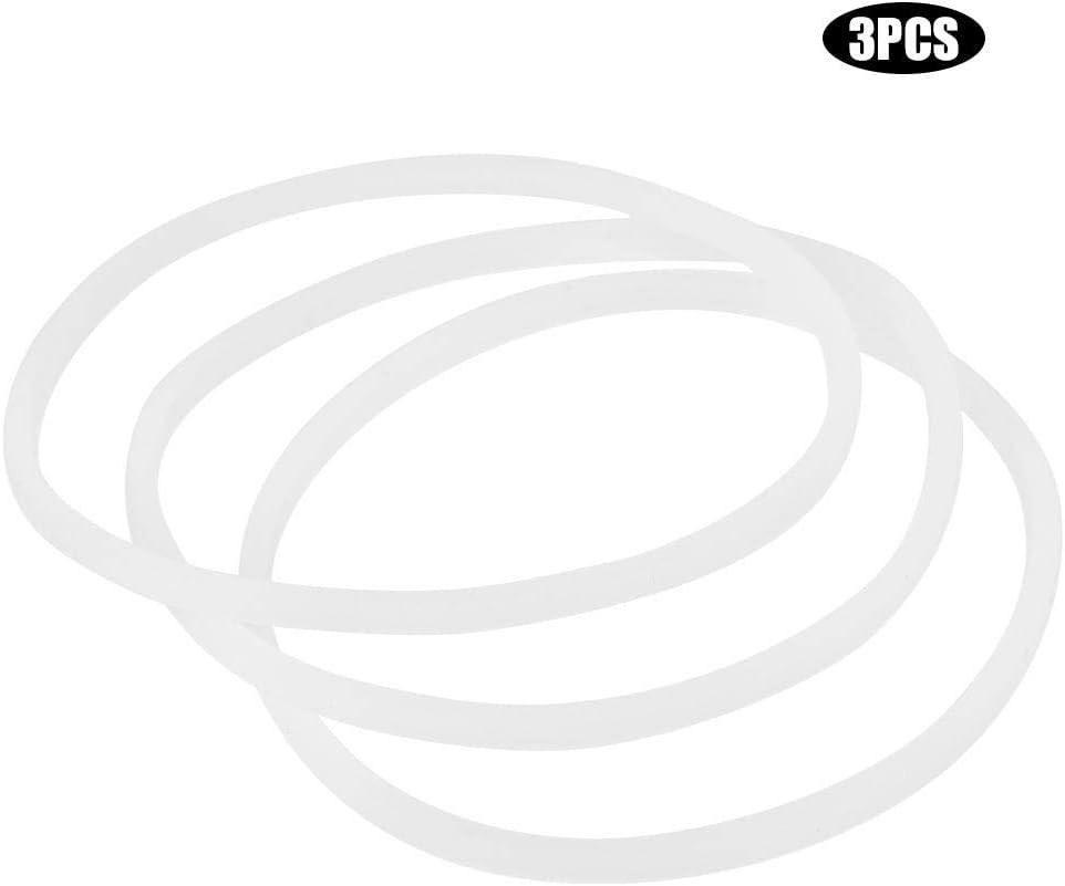 3PCS Mumusuki Original G/ünstigen Preis 6 St/ücke Neue Ersatz Dichtungen Gummidichtungsring F/ür Magic Bullet Flach//Kreuz Klinge