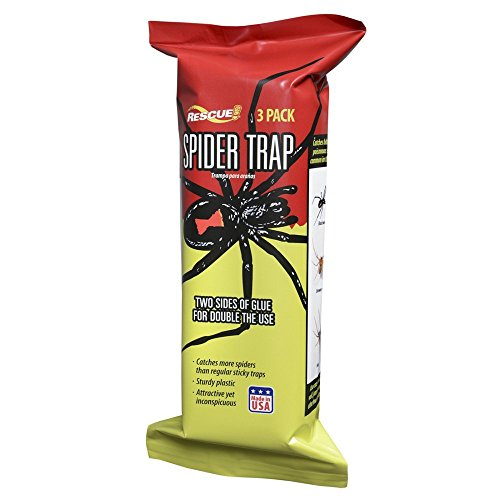 RESCUE! Non-Toxic Spider Trap, 3 Pack by RESCUE!