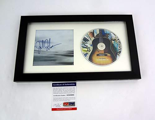 Jack Johnson Signed Autograph All The Light Above It Too Framed CD PSA/DNA COA