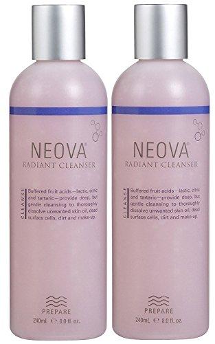 By Neova Eye Therapy (Neova Radiant Skin Cleanser 8 oz - Set of)