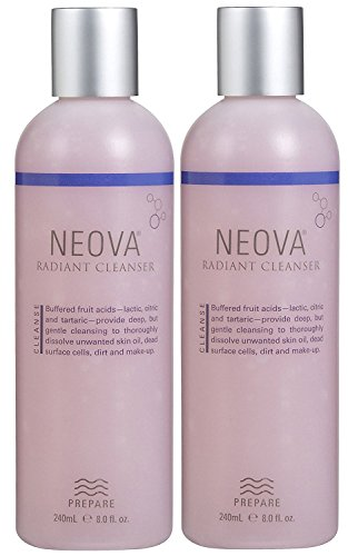 Neova Radiant Skin Cleanser 8 oz - Set of Two (Neova Herbal Wash)