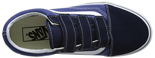 V Skool Trainers Old Vans Adults' Unisex Blue qwgOqCI