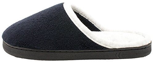Women's Microterry Slippers Wider On Feet Width Black Clog Chukka Your qvw8tEP