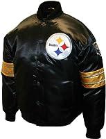 NFL Men's Pittsburgh Steelers Prime Satin Jacket
