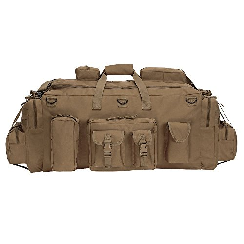 VooDoo Tactical Men's Mojo Load-Out Bag with Backpack Straps, Coyote