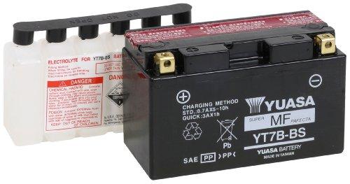- Yuasa YUAM62T7B YT7B-BS Battery